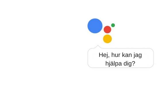 Google Assistant - Snart på Svenska i Sverige!