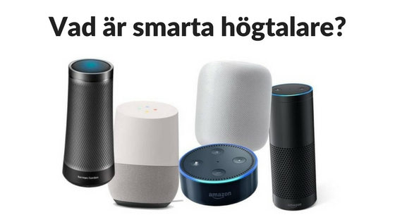 Guide till Smarta Högtalare och Röstassistenter i Sverige