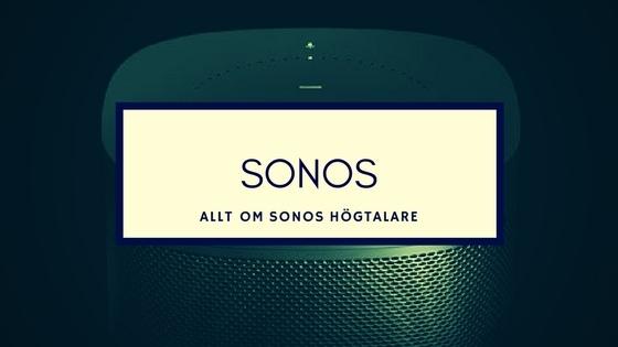 sonos smarta högtalare sverige - smartahogtalare.se