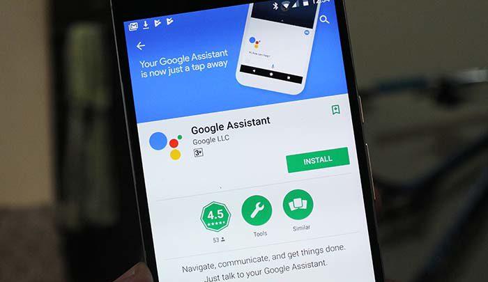 google assistant svenska