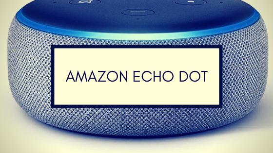 Amazon Echo Dot Alexa Smarta Högtalare Sverige