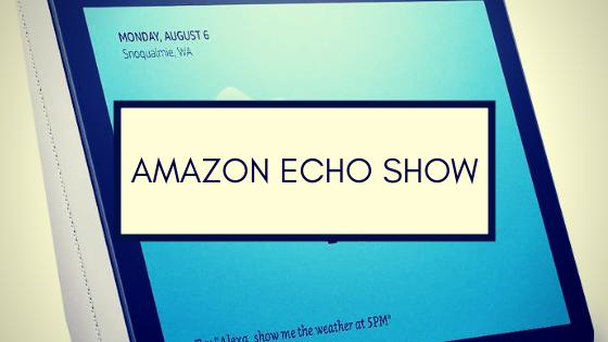 Amazon Echo Show Smarta Högtalare Sverige