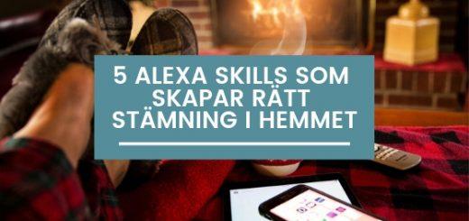 Copy of 5 Alexa skills för bättre träning och hälsa 2019